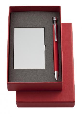 Набор Join: футляр для визиток и шариковая ручка - 5904