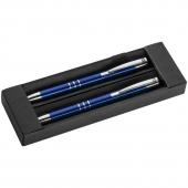 Набор: ручка шариковая и карандаш в футляре - 13330